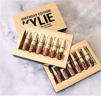 Wholesale Newest Mini Kylie Jenner Lipkit In LEO Limited Birthday Edition CONFIRMED Matte Lipstick High Quality
