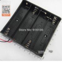 Wholesale for New Plastic Storage Box Case Holder Black For Battery With quot Wire Leads