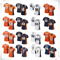american men names - Complete Logo name Stitched Lmited Women DAVIS MANNING MILER THOMAS Broncos football Jerseys Sport hot fashion sale