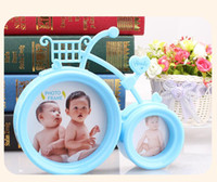 Wholesale The new creative personality style bike bicycle frame swing sets children s cartoon photo studio Photo Frame