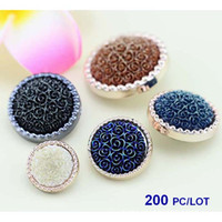 Wholesale Hot Jewelry Charms Vintage Flower Diy Bracelet ring fashion accessories buttons buckles Size Color