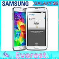Wholesale Original Unlocked Samsung S5 i9600 G900F G900A G900H Quad core G G MP GB ROM P GPS WIFI Refurbished Smartphone