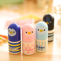 Wholesale Korean Stationery Cartoon Chick Cute Face Correction Fluid Correction Fluid Correction Tape H0102
