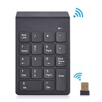 Other Numeric Keypad  2.4G Wireless Keyboard USB Numeric Keypad 18Keys Mini Digital Keyboard Ultra Slim Number Pad High Quality For Compute PC Laptop