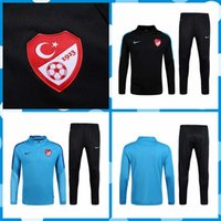 Wholesale 2016 Turkey Soccer Tracksuit Soccer Jersey Training Suit football Sweatshirt maillot de foot Sportswear Football shirt Set