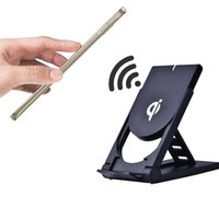 Wholesale Qi Wireless Charger Charging Pad with Cellphone Holder for Samsung Galaxy S6 S6 Edge Note5 Nexus Nokia Qi enable Devices with Retai Box