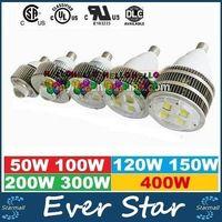Wholesale Cree E27 E40 Hook LED High Bay Lights W W W W W W W Led Warehouse Garage Light Gas Station Canopy lights