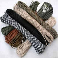 Wholesale 90 color Paracord Paracord Parachute Cord Lanyard Rope Mil Spec Type III7Strand FT Climbing Camping survival equipment