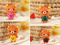 Wholesale Hot Sale Mini Cute Bear U Disk Cartoon Real Capacity GB GB GB GB GB G USB Flash Drive Key Memory Rilakkuma