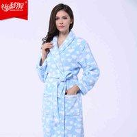 beautiful bathrobes - Women s Bathrobe Beautiful Breathable Coral Fleece Warm Super Sale