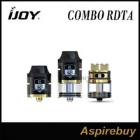 base making - iJoy Combo RDTA Atomizer RTA RDA Rebuildable Dripping Tank with ohm Pre made Coil Optional Decks RDA Base Changeable iJoy Combo rdta