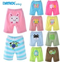 Wholesale pure cotton baby short pants for hot summer