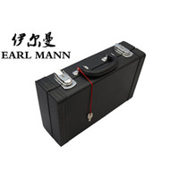 Wholesale Graceful PU Hard Case For Clarinet Instruments Luggage And Bags Trunk Imitate Leather Clarinete Box