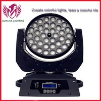Wholesale Hot sale CREE led wash zoom moving head light x12w rgbw in1 dmx stage light wash