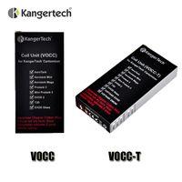Autonome Kanger Moteur double bobines VOCC VOCC-T Bobine pour Kangertech Aerotank Mini protank 3 EVOD 2 verre Topevod kit