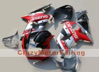 aftermarket gsxr fairings - 3 Gifts New Fit Aftermarket Fairing kit for SUZUKI GSXR1000 GSX R1000 GSXR K2 Red black Fairings set
