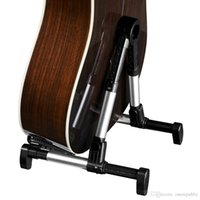 Wholesale 50pc Folding Foldable Aluminum alloy A frame Instrument Stand for Guitar Bass Violin Ukulele Banjo Mandolin Z00490