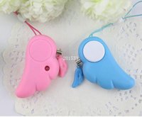 Wholesale Beauty Women And Girls Personal Self Defense Tools Alarm Egg Angel Wings Shape Security Protection Tools Self Defense Supplies