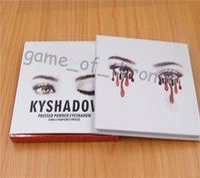 Wholesale HOT NEW Kyli Jenner Kyshadow Pressed Powder Eyeshadow Kit Colors Eye Shadow Palette High quality