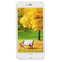 256 Go 128 Go Touch ID Goophone i7 Plus V3 3G WCDMA Quad Core MTK6580 Android 6.0 5,5 pouces IPS 1280 * 720 HD Scanner d'empreintes digitales WiFi Smartphone