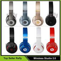 Wholesale Used Wireless Studio Headphone Bluetooth Studio Wireless Headphones Wireless studio with seal Serial code retail box