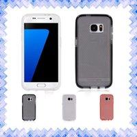 apple battery check - Tech21 Tech Evo Frame S7 Edge Mesh Check Case Mobile Cover Shockproof for Samsung Galaxy s6 s6 edge s7 s7 edge