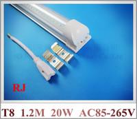 ac compacting - tube base compact integrated LED tube light lamp T8 mm M FT W SMD LED light tube aluminum CE ROHS AC V V
