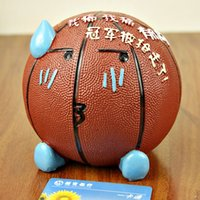 basketball piggy bank - Gift Basketball Resin To Save Money Savings Can Student Box Piggy Bank Money box Coin Box