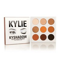 Wholesale Kylie Jenner Eyeshadow Palette New Brand Famous Fashion Women Urban Makeup Waterproof Natural Colors Cosmetic Factory Direct Wholesales