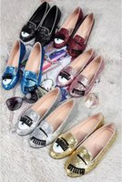 big eye glitter - Top Quality Chiara Ferragni Women s Big Eyes Loafers Glitter Espadrilles Casual Shoes Genuien Leather Flat Heel Slip on Sneakers Size