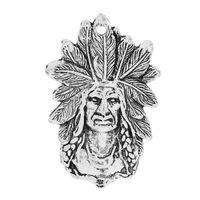aboriginal jewelry - Charm Pendants Aboriginal People Human Antique Silver mm quot x mm quot new jewelry making DIY