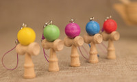 Wholesale NEW color kendama Trendy accessories Candy colors Pendant high quality small kendama key chain fashion accessories