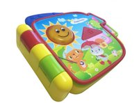 baby touch books - 36pcs Electronic flash Musical Rhymes Book toy baby education toy touch and explore discovery book light voice book baby toy