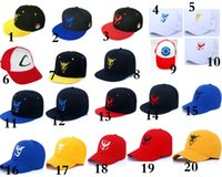 Wholesale 20 color Poke Hat Cap New Adult and big kids Mesh Ball caps Adult Costume Cartoon Pikachu Mesh baseball hockey Hat E1206