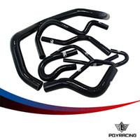 Wholesale PQY STORE D15 Silicone Radiator Coolant Hose Silicone hose kit With logo For Honda CIVIC D15 D16 EG EK PQY LX1303D BK