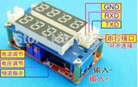 Wholesale A Constant Current Voltage LED Driver Battery Charging Module Voltmeter Ammeter TK1210 battery protector