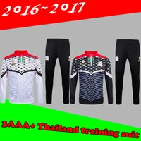 Wholesale 2017 Men s Palestino soccer tracksuit Palestine football survetement chandal top quality Palestine training football sweatershirt pants