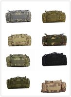 Wholesale 2017 pockets riding outdoor tactical shoulder bag Outdoor Accessory Pouch with Hanging Buckle Multifunction Hunting Waist Bags Tact