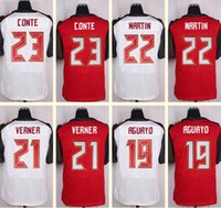 Wholesale 2016 New Men s Doug Martin Alterraun Verner Roberto Aguayo Chris Conte Elite White Red Top Quality jerseys Drop Shipping