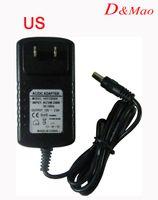 Wholesale AC V To DC V A Power Supply Converter Adapter for Led Lights Strip string EU US Plug
