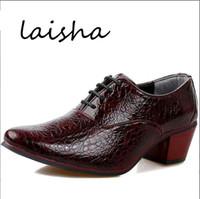 italian shoes - Italian Fashion Leather Men Shoes Point Toe Elegant Qualit Leather Mens Dress Flats Shoes Oxford Shoes For Men Business Shoes