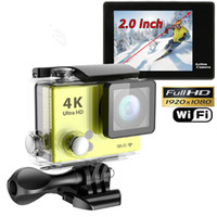 Wholesale Ultra HD K P M WiFi Sport Action Camera Diving Waterproof DV Helmet Video Camcorder DVR SJ8000 Eken H9 OTH192