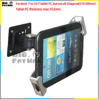 Wholesale Universal wall mounting for tablet pc display stand holder brace to inch holder for ipad samsung plurality of angles stand