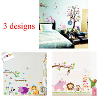Cheap Removable wall sticker Best PVC Animal wall decals