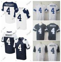 Wholesale 2016 Cowboys Dak Prescott Men s Elite Stitched Dallas Football Jerseys White Blue Thanksgiving Home Away High Quality Wear
