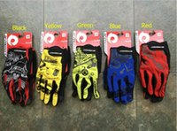 Wholesale Free DHL Shipping Cool outdoor sports mountain bike riding gloves skid touch gloves sports and fitness