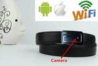 Wholesale Mini WIFI P FPS SPY HD Hidden Men s belt Camera Wireless Video Recorder Camera