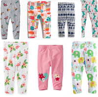Wholesale BST15 NEW ARRIVAL Little Maven girls Kids leggings tights child Cotton cartoon print animals pant causal elegant girl child trouser