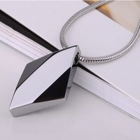 best carbide - Customized Shiny Silver Tone Tungsten Carbide Mans Pendants Necklace For Best Gifts