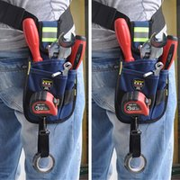 Wholesale Pocket Professional Electrician Tool Belt Utility Pouch Work w Tape Buckle Conveniet Tool Bag for Your Good Choice